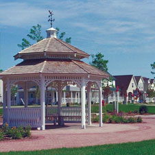 photo of a community gazebo