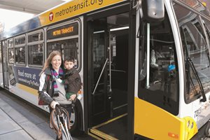 Transit connects people to destinations. The quality and character of walking and bicycling connections impacts quality of life.