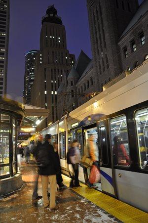Downtown Minneapolis is the strongest transit market for jobs, but its growing resident population will soon have transit access to job centers along the planned extensions of METRO Blue Line and Metro Green Line.