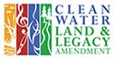 Clean Water Land & Legacy Amendment logo; link to Legacy Amendment website.