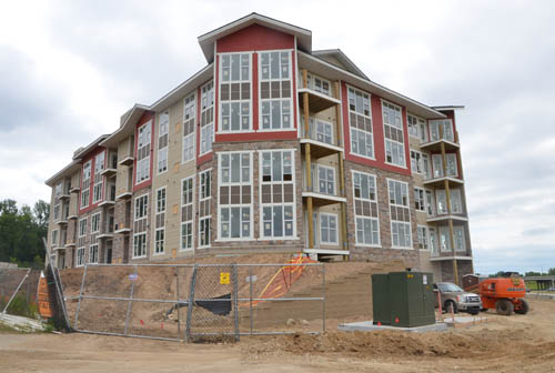 A new affordable housing development for people ages 55 and over is under construction near Hwy. 61.