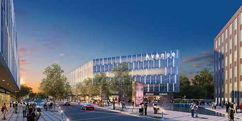 Artist rendering of Avenue project in Edina.