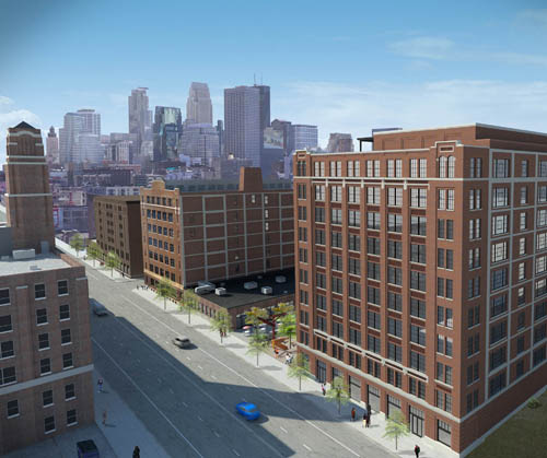 The Nordic House site will be developed into office and retail space, and 57 apartments.