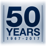 50 years graphic and link to Met Council 50th Anniversary information.