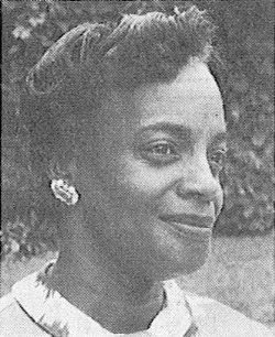 Photo of Janabelle Taylor as it appeared in the Metropolitan Council newsletter in December 1968.