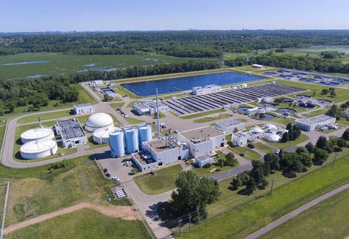 Blue Lake Wastewater Treatment Plant, 2016, serving Waconia and 30 other west metro communities.