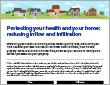Protecting your health and home: reducing inflow and infiltration (pdf)