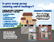 Is your sump pump causing sewer backups? pdf example image