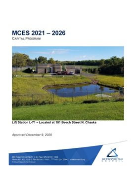 Cover of the 2020-2025 Capital Program, linking to the full PDF.