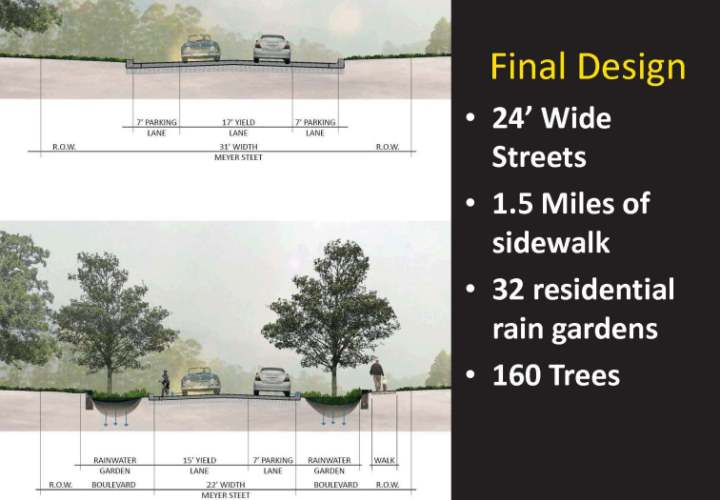Maplewood's Bartelmy-Meyer Neighborhood Final Street Design