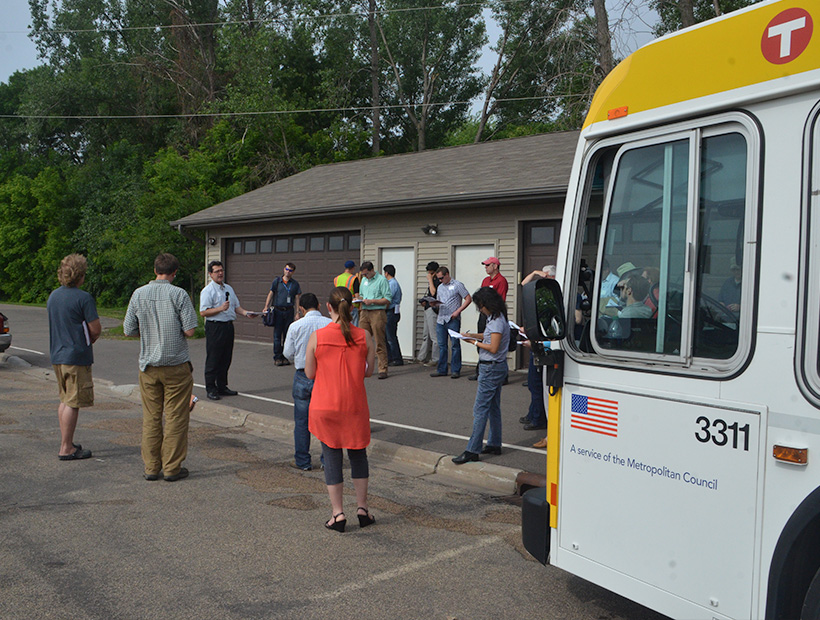 Stormwater Reuse Guide Workshop: Bus Tour Centerville, MN