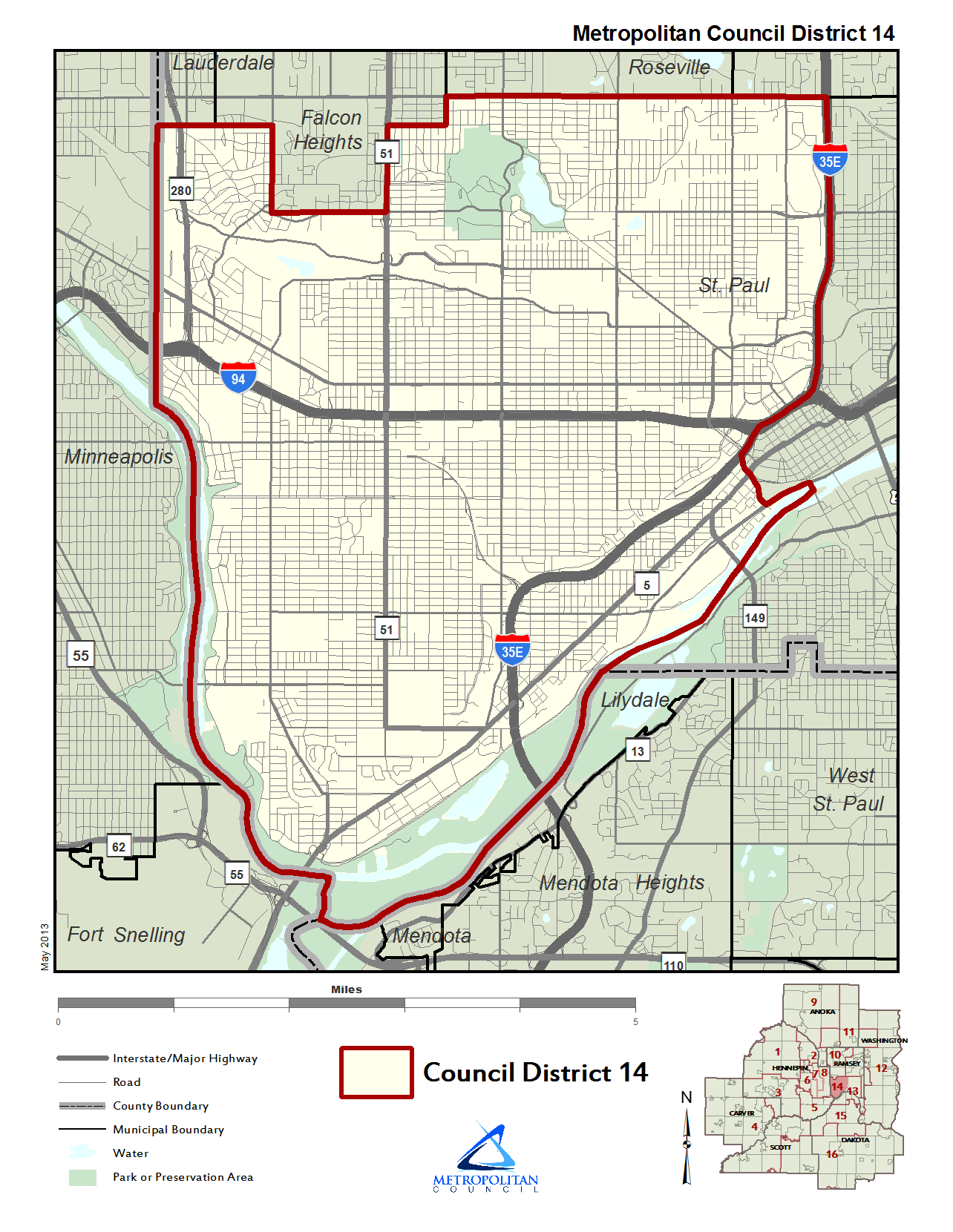 District 14 map