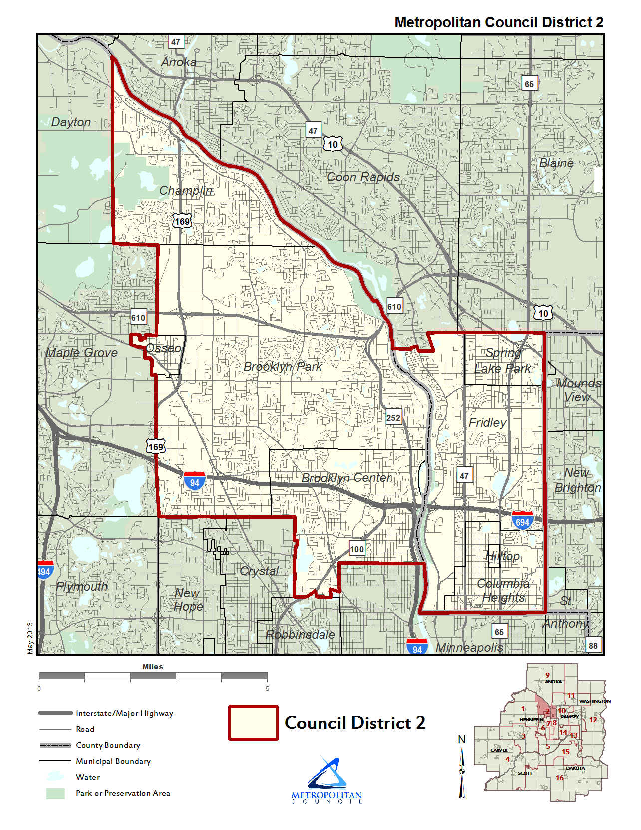 Council District 2 map