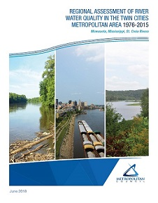 Cover of Regional Assessment of River Water Quality in the Twin Cities Metropolitan Area