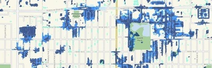 Localized Flood Map Screening Tool