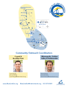 Community Outreach Coordinators map