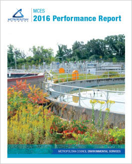 Cover photo of MCES 2016 Performance Report