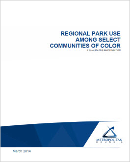 Park Use Among Select Communities of Color 2014 Co