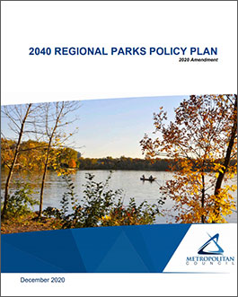 Parks Policy Plan 2040 Cover