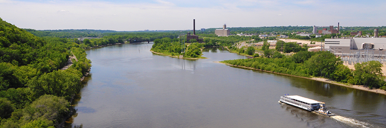 Mississippi River near Saint Paul